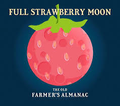 Strawberry Full Moon – Health, Happiness, & Freedom