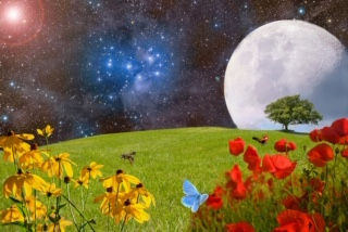 Super Moon Spring Equinox